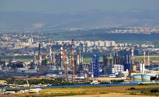 Des raffineries à Haïfa en Israël (illustration).