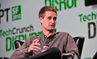 Evan Spiegel, le fondateur de l'application Snapchat.