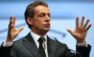 Nicolas Sarkozy aux Journées parlementaires des Républicains le 23 septembre 2015 à Reims