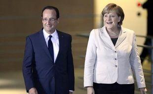 La chancelière allemande Angela Merkel et le président français François Hollande tenteront d'afficher leur unité jeudi à Berlin lors d'un sommet déterminant pour l'avenir de la Grèce dans la zone euro.