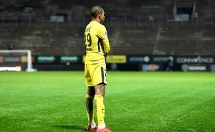 L'attaquant du PSG Kilian Mbappé.