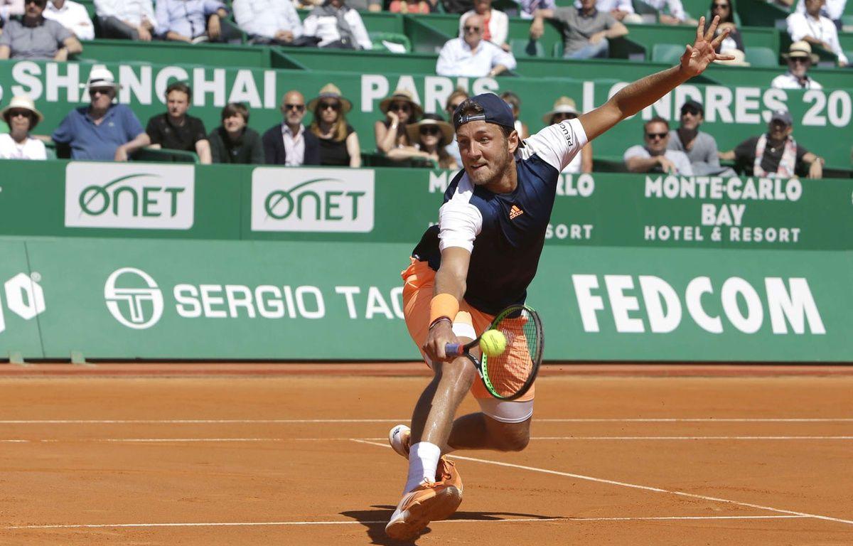 Lucas Pouille a rendez-vous avec les demi-finales. – Claude Paris/AP/SIPA