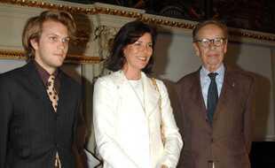 De gauche à droite: Florian Zeller, Caroline de Monaco et Philippe Jaccottet.