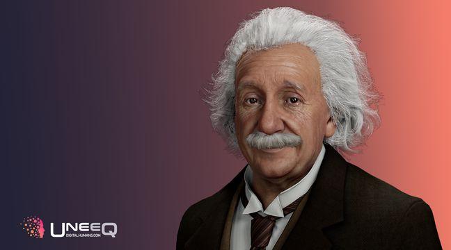 Un sosie digital d'Albert Einstein capable de vous répondre grâce à l'intelligence artificielle