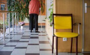 Illustration: Une maison de retraite de Nantes.