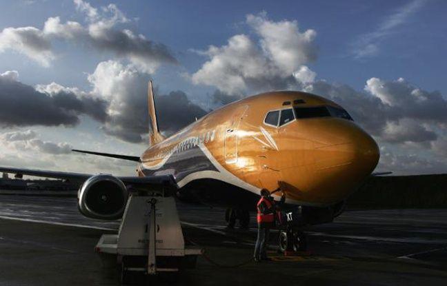 Un avion de la compagnie de fret Europe Airpost.