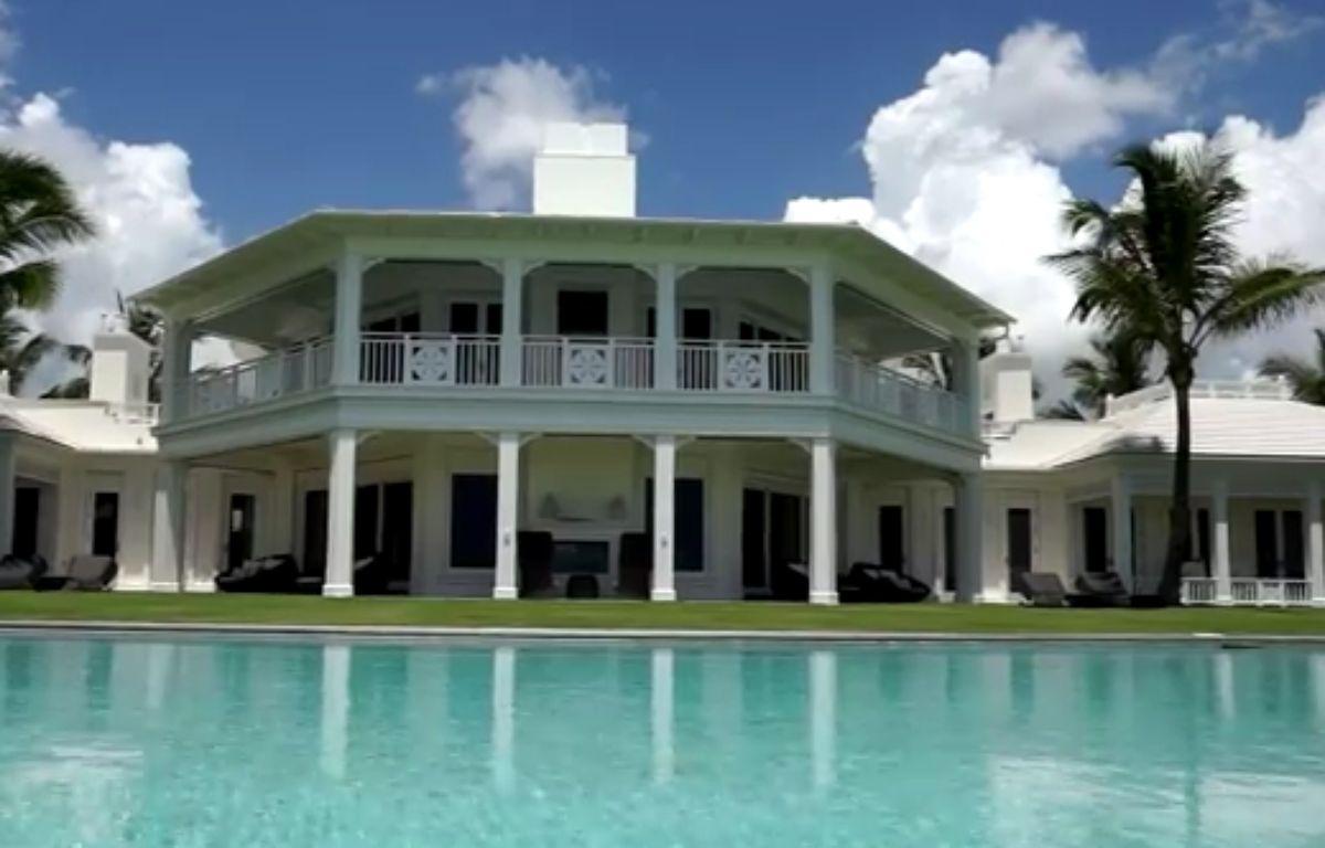 La villa de Jupiter Island, en Floride (Etats-Unis).  – Capture d'écran / YouTube