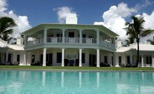 La villa de Jupiter Island, en Floride (Etats-Unis).