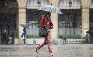 Vignes détruites, foyers privés d'électricité, inondations et toitures endommagées: de violents orages, parfois accompagnés d'énorme grêlons, se sont abattus sur l'ouest et l'Ile-de-France lundi matin, et onze départements de l'ouest étaient toujours placés en alerte orange dans la soirée.