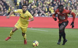 Fabio face à Rennes, le 13 janvier 2019.