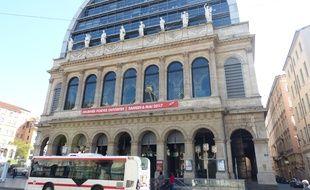 L'opéra de Lyon.
