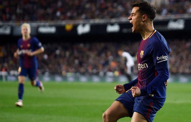 VIDEO. Philippe Coutinho a marqué son premier but avec le FC Barcelone