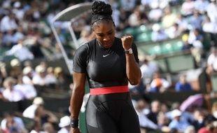 Serena Williams a fait son retour à Roland-Garros.
