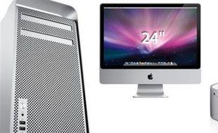 La gamme d'ordinateurs de bureau d'Apple