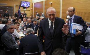 Gérard Collomb lors de son audition par la Commission des Lois de l'Assemblée, le 23 juillet 2018.