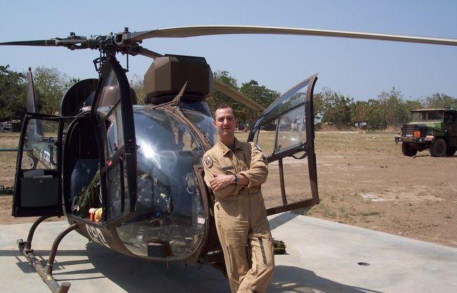 Le lieutenant Matthieu Gaudin était commandant de bord d'un hélicoptère gazelle.