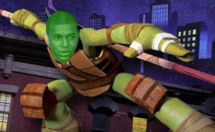 Mbappé est surnommé Donatello par le vestiaire parisien.
