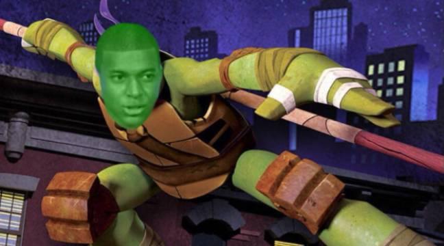 Video les g nies les joueurs du psg surnomment mbapp du nom d 39 une tortue ninja - Le nom des tortue ninja ...