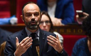 Paris, le 17 décembre 2019. Edouard Philippe lors d'une séance de questions au gouvernement.