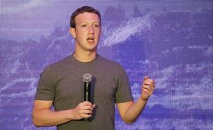 Le patron de Facebook, Mark Zuckerberg.