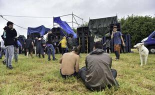 Photo d'illustration d'une rave party en Bretagne, ici le 19 juin à Redon.