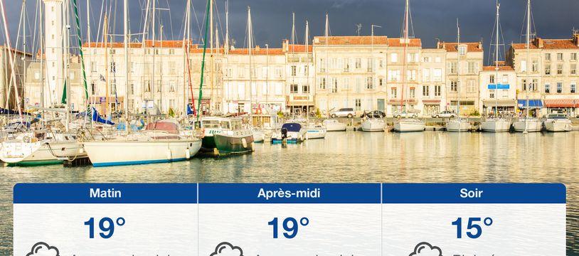 Météo La Rochelle: Prévisions du samedi 19 juin 2021