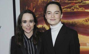 Eliott Page et Emma Portner en juin 2019.