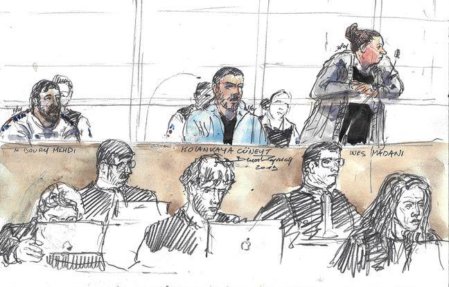 Inès Madani comparait devant la 16e chambre du tribunal correctionnel de Paris