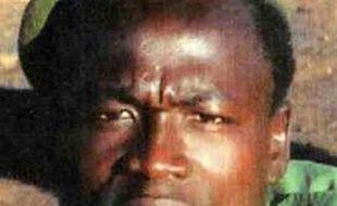 Photo non datée provenant du site internet de Interpol de l'Ougandais Dominic Ongwen, chef de la sanglante milice LRA