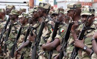 Soldats de l'armée sénégalaise (illustration).