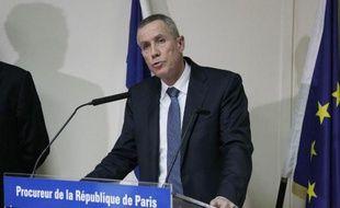 Le procureur de Paris François Molins tient uen conférence de presse le 9 janvier 2015 à Paris