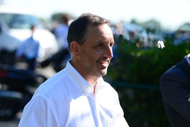 Joseph DaGrosa, le propriétaire du fonds d'investissement américain GAPC, a fait sa première apparition publique au Haillan.