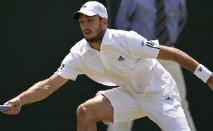 Le Serbe Viktor Troicki lors du tournoi de Wimbledon, le 29 juin 2013.