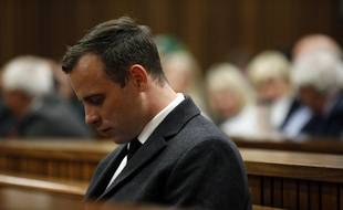 Oscar Pistorius, lors de son procès, le 6 juillet 2016
