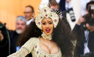 La rappeuse Cardi B le 7 mai 2018 à New York.