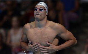 Florent Manaudou, ici lors des Mondiaux 2013 de Barcelone, espère conquérir le titre sur 50m nage libre lors des championnats d'Europe qui débutent à Berlin lundi 18 août 2014.