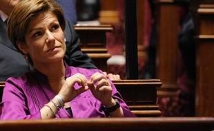 Chantal Jouanno au Sénat, le 1er octobre 2011.
