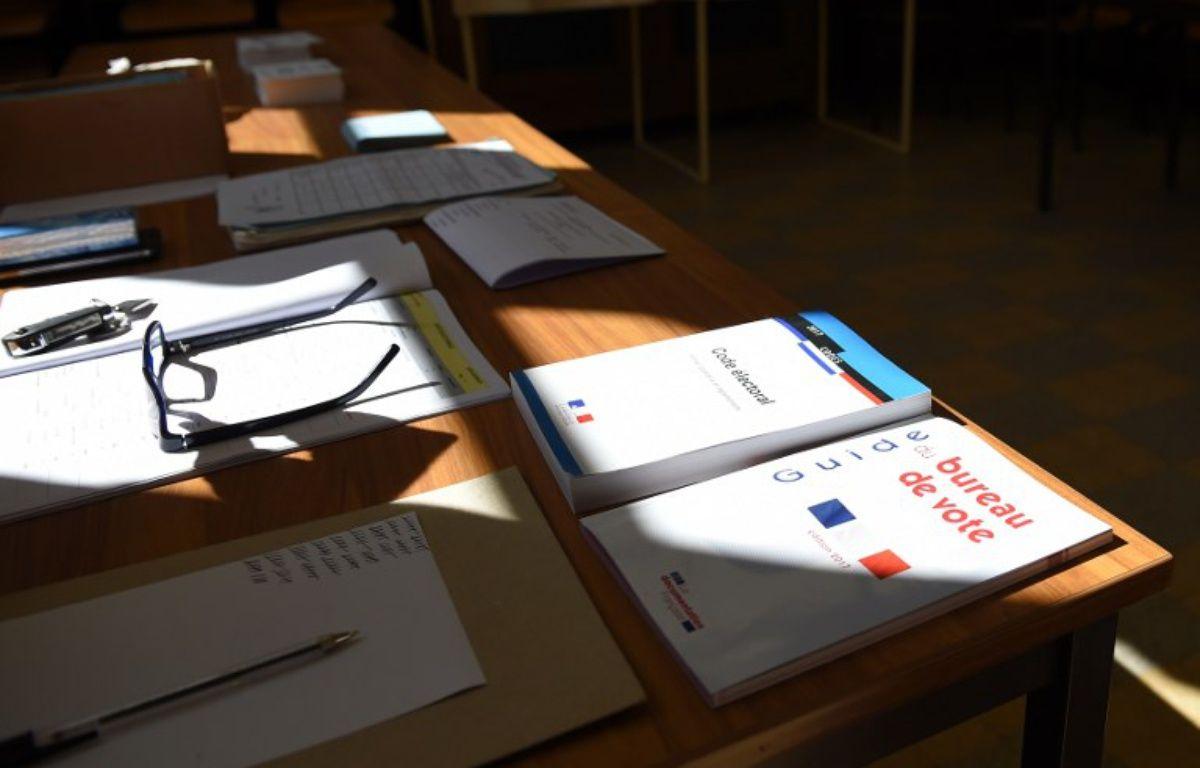 Illustration d'un bureau de vote – GUILLAUME SOUVANT / AFP