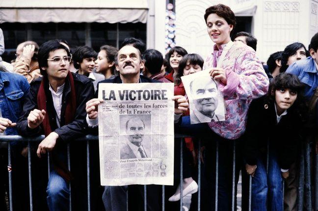 Électeurs de François Mitterrand en 1981