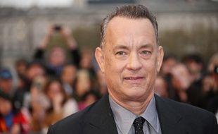 Tom Hanks à Londres, le 25 avril 2016.