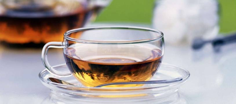 Illustration: Une tasse de thé.