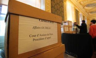 La salle d'audience où se déroule le procès de Daniel Legrand  fils, acquitté d'Outreau. Le Parlement de Bretagne à Rennes, le 19 mai 2015