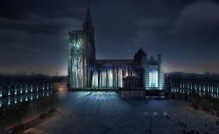 Après le spectacle «La lumière intemporelle», la cathédrale va s'éteindre, pour mieux se (re)découvrir fin octobre, parée de ses nouvelles lumières.