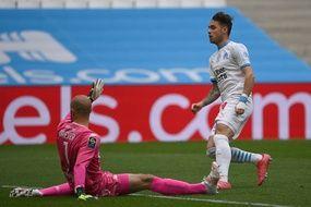 Pol Lirola, le sauveur de l'OM lors du match contre le FC Lorient.