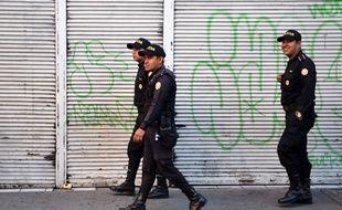 Des policiers guatémaltèques (image d'illustration).