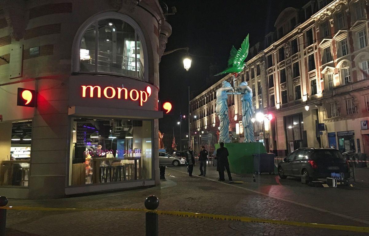 Le magasin Monop' braqué à Lille. – M.Libert/20 Minutes