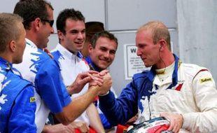 Alexandre Premat sur le GP de Malaisie en 2005