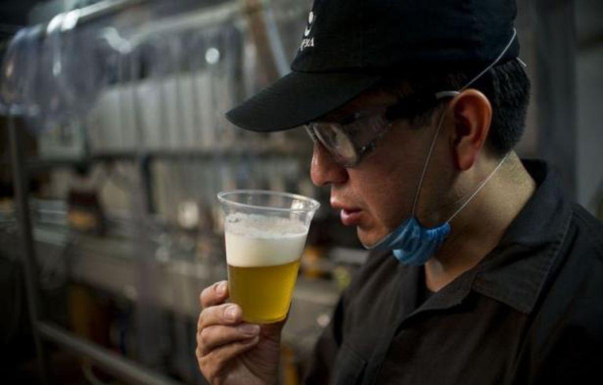 Les entreprises de bière artisanale locale se multiplient au Mexique alors que les géants du secteur de la brasserie industrielle, dont la célèbre Corona, ont été rachetés par des groupes étrangers. – Ronaldo Schemidt afp.com