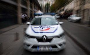 (Photo d'illustration) Une voiture de police.