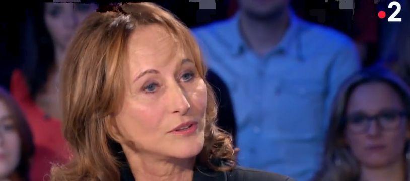 Ségolène Royal dans l'émission «On n'est pas couché» le 03/11/2018.
